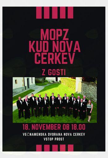 Povabilo na letni koncert Moškega pevskega zbora KUD Nova Cerkev