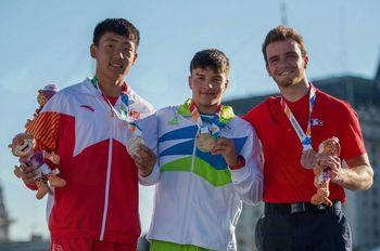 Lan Tominc je mladinski olimpijski prvak v slalomu