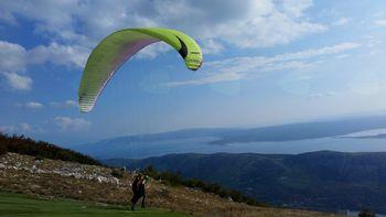 Letenje na Tribalju (Hrvaška)