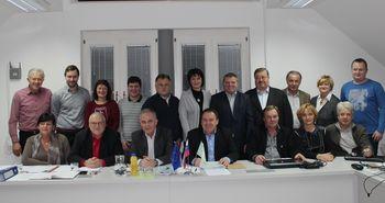 Izvoljeni člani občinskega sveta in njegovi organi