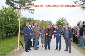 Fotogalerija: Odprtje ceste Lemberg–Lanšperg