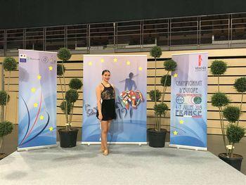 Eva uspešna na Evropskem prvenstvu v twirlingu