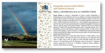 Fotografska razstava Darje Grdina