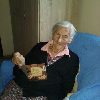 Gospa Ljudmila Zidar praznovala 95 let