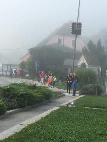 »Dobra volja je najbolja« – sploh ko gremo peš v šolo!