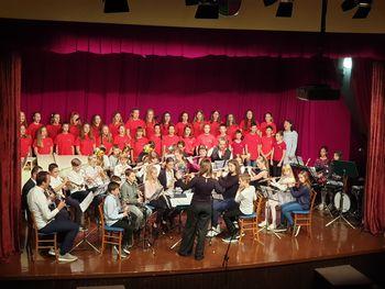 10 let glasbene šole v Vojniku