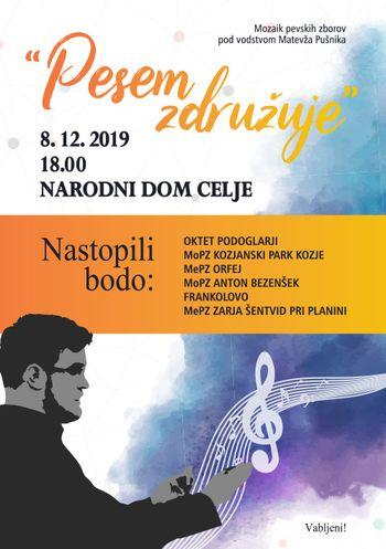 »Pesem združuje« – Mozaik pevskih zborov pod vodstvom Matevža Pušnika