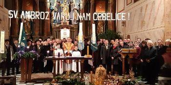 Ambroževa sv. maša na Frankolovem