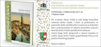 Dan odprtih vrat Občine Vojnik: Predstavitev knjige pomembne osebnosti Občine Vojnik