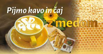 V Sloveniji pijemo kavo in čaj z medom