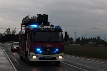 V PGD Vojnik dobili gasilsko vozilo z reševalno platformo