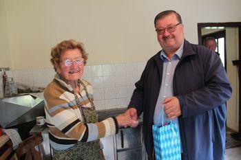 90 let Fanike Gobec