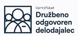 Certifikat Družbeno odgovoren delodajalec