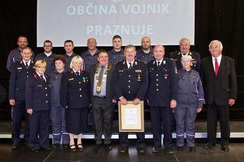 Gasilci PGD Vojnik praznujejo 140 let dela