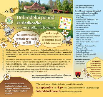 12. septembra bodo vse poti vodile na Čebelarski center Slovenije
