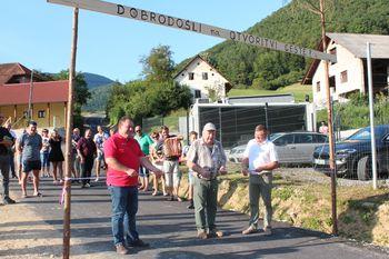 Fotogalerija: Odprtje ceste v Verpetah