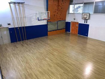 Rekonstrukcija športnega poda in ogrevanja v telovadnici Frankolovo