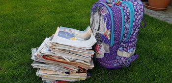 Akcija zbiranja šolskega papirja poteka nad pričakovanji