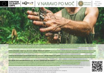 Lokalni projekt V naravo po moč