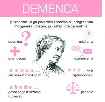 Pripnimo si vijolično pentljo ob svetovnem dnevu Alzheimerjeve bolezni