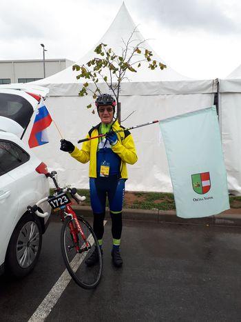 Na Svetovnem amaterskem kolesarskem prvenstvu v Sarajevu