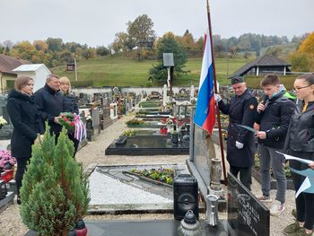 Foto utrinki: Komemoracija ob dnevu spomina na umrle na Frankolovem