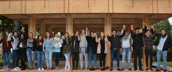 Dijaki petih evropskih šol so se spoznavali s problemi beguncev