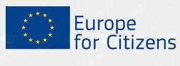 "Projekt "" Združeni v kulturi v EU "" je financiran s strani Evropske unije v sklopu programa ""Evropa za državljane"""