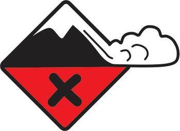 VELIKA nevarnost proženja snežnih plazov na območju Občine Tržič nad 1200 mnv