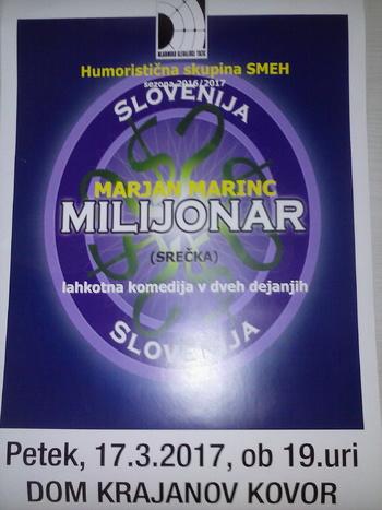 Milijonar v Kovorju