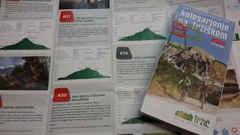 Karta Kolesarjenje na Tržiškem brezplačno na voljo ljubiteljem gorskega kolesarjenja