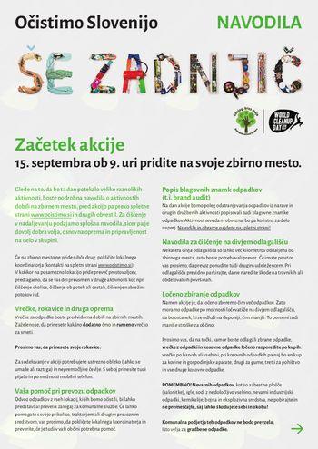 Očistimo Slovenijo