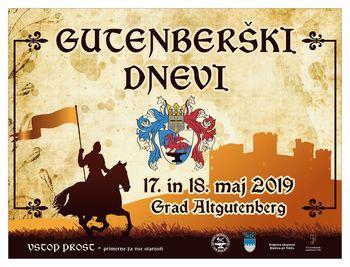 Gutenberški dan je odpovedan