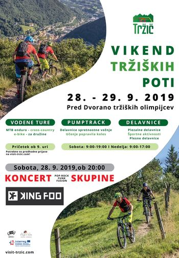 VIKEND TRŽIŠKIH POTI – Rekreativno gorsko-kolesarsko druženje v Tržiču