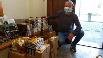 V občini Tržič z Verigo solidarnosti do brezplačnih knjig