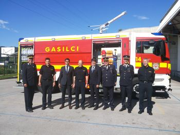 Sodelovanje kranjske in tržiške občine za večjo požarno varnost