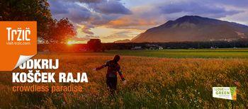 V občini Tržič rekordna poletna promocijska kampanja Odkrij košček raja 2020
