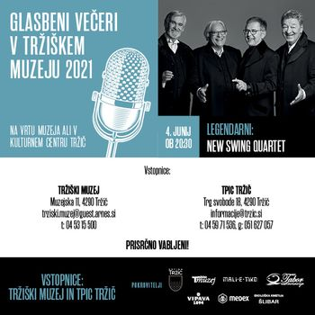 Tudi letos Glasbeni večeri v Tržiškem muzeju bodo