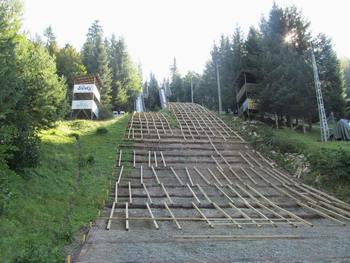 Obnova velike skakalnice v Sebenjah