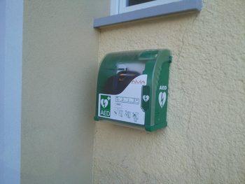 Nov defibrilator v Lešah