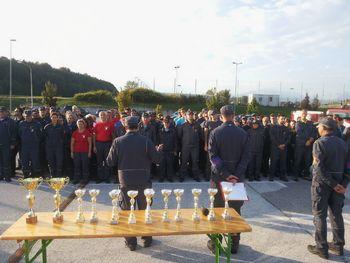 Gasilci združili moči na gasilskem tekmovanju