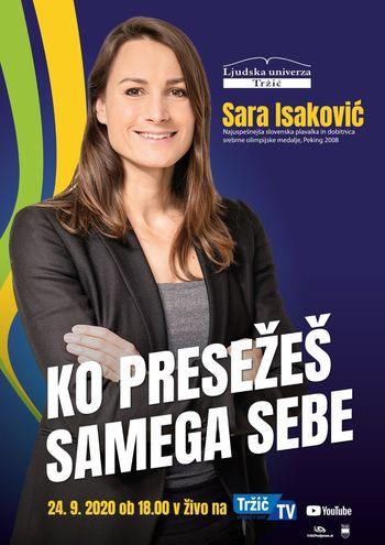 Podjetniški večer s Saro Isaković