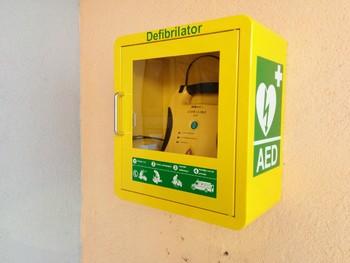 AED v občini Bled