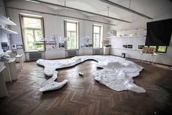 Razstava 'ZGODOVINA PRIHODNOSTI' - Case study Bled / exhibition 'HISTORY OF THE FUTURE'