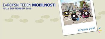 Evropski teden mobilnosti se je pričel