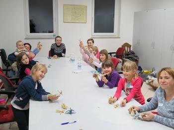 Delavnice na Trebelnem: Izdelki iz ličkanja