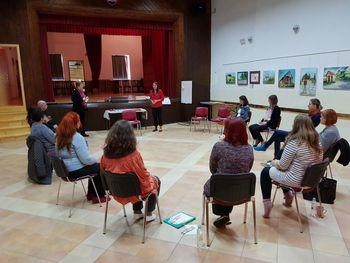 Delavnica Umetnosti pripovedovanja pravljic z mentorico Ljobo Jenče