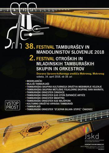 38. FESTIVAL TAMBURAŠEV IN MANDOLINISTOV