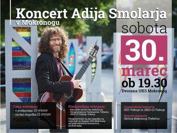 Koncert Adija Smolarja v Mokronogu