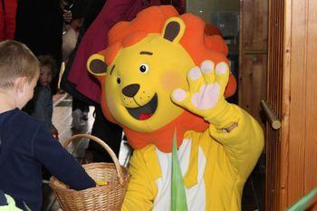 Levček je pripeljal gozdno gledališče